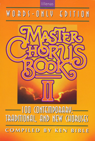 Master Chorus Book II (Words-only Edition)   -