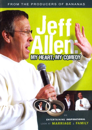 My Heart, My Comedy, DVD   -     By: Jeff Allen