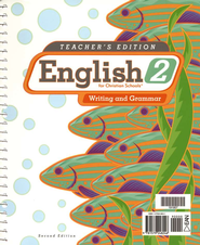 BJU Enlgish Grade 2: Writing & Grammar, Teacher's Edition  (Second Edition)  -