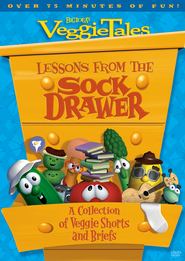 Lessons from the Sock Drawer: A Collection of Veggie Shorts and Briefs, VeggieTales DVD  -