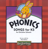 BJU Kindergarten 5 Beginnings Audio CD (3rd Edition)   -