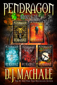Pendragon Books 6-10: The Rivers of Zadaa; The Quillan Games; The Pilgrims of Rayne; Raven Rise; The Soldiers of Halla - eBook  -     By: D.J. MacHale