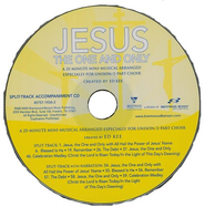 Jesus, the One and Only (Split Track Accompaniment CD)   -
