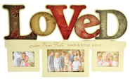 Personalized, Love Never Fails Photo Frame, Loved   -