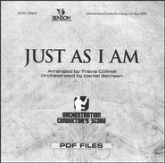 Just As I Am (Orchestration/Conductor's Score CD-Rom)   -