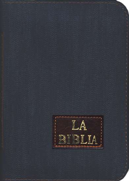 La Biblia Dios Habla Hoy, Denim con Cremallera  (Good News Denim Bible, with Zipper)  -
