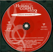 Ready to Sing Hymns & Gospel Songs, Volume 2 (Soprano Rehearsal Track CD)  -