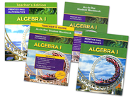 Prentice Hall High School Math Algebra 1 Homeschool Bundle  -