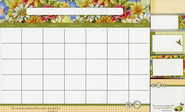 This is the Day That the Lord Has Made, Magnetic Planner with Flags  -