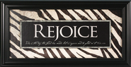 Rejoice, This Is the Day Framed Print  -