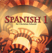 BJU Spanish 1, Set of 12 Audio CDs   -