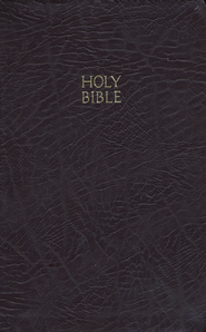 KJV Reference Bible, Bonded leather burgundy  -     By: Bible