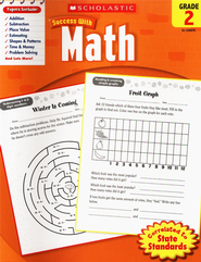 Scholastic Success with Math, Grade 2  -
