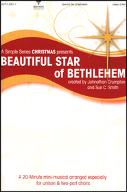 Beautiful Star of Bethlehem (Choral Book)   -
