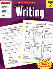 Scholastic Success with Writing, Grade 2  -