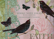 Flights of Faith Sticky Note Folio  -     By: Jennifer Parker