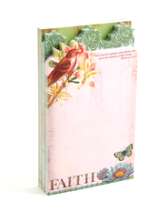 Flights of Faith Three Layer Diecut Notepad  -     By: Jennifer Parker
