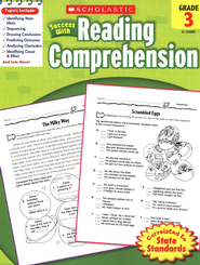 Scholastic Success with Reading Comprehension, Grade 3  -