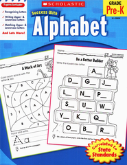 Scholastic Success with Alphabet  -