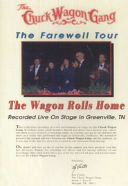 The Wagon Rolls Home: The Farewell Tour, DVD   -     By: The Chuck Wagon Gang