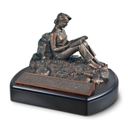 Putting God First Woman Sculpture  -