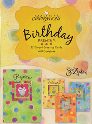 Sweets Birthday Cards, Box of 12  -     By: Sue Zipkin