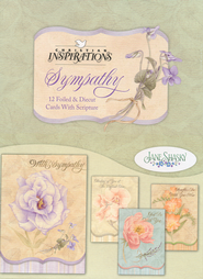 Gods Strength Sympathy Cards, Box of 12  -     By: Jane Shasky