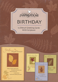 In His Hands Birthday Cards, Box of 12  -