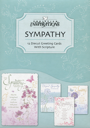 Father of Mercies Sympathy Cards, Box of 12  -