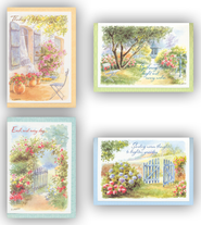 In Thought & Prayer, Thinking of You Cards, Box of 12  -