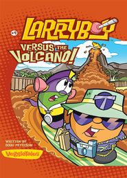 LarryBoy, Versus the Volcano - eBook  -     By: Doug Peterson
