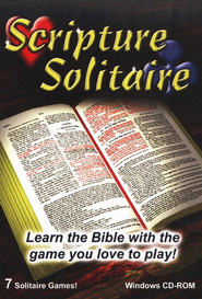 Scripture Solitaire on CD-ROM   -