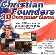 Christian Founders 3D Computer Game on CDROM   -