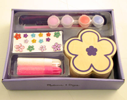 Decorate-Your-Own, Wooden Flower Chest   -