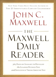 Maxwell Daily Reader  -              By: John Maxwell
