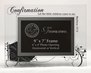 Let the Little Children Come Confirmation Photo Frame  -