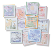 Flower of the Month Sticky Note Set   -