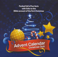 Advent Calendar Christmas Quiz on CD-ROM   -