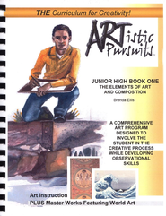 ARTistic Pursuits, Junior High Book One, The Elements of Art and Composition  -              Edited By: Daniel D. Ellis                   By: Brenda Ellis