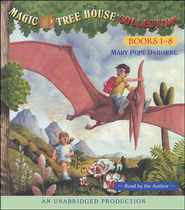 Magic Tree House: Books 1-8 Unabridged Audiobook on CD  -              By: Mary Pope Osborne