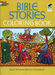 Bible Stories Coloring Book  -