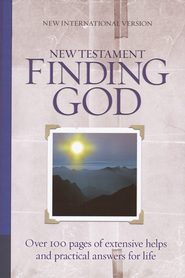 NIV Finding God New Testament - 2010 edition 1984  -