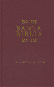 NVI Bible, Hardcover, Burgundy  -