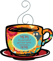 Mom, The Warmth of Your Love Magnet  -
