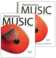 BJU Appreciating Music Teacher's Resource Materials  Second Edition  -