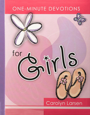 One Minute Devotions for Girls   -     By: Carolyn Larsen