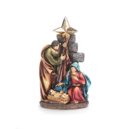 Holy Family with Star Figurine  -