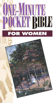 NKJV One-Minute Pocket Bible for Women   -     By: Mike Murdock