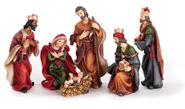 Nativity, 6 Piece Set  -