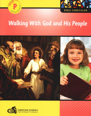 Walking with God and His People Preschool Student Workbook  -